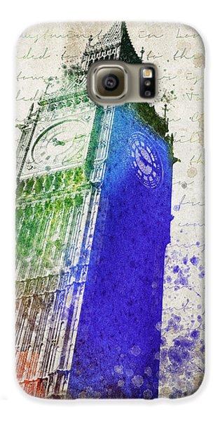 Big Ben Galaxy S6 Case by Aged Pixel