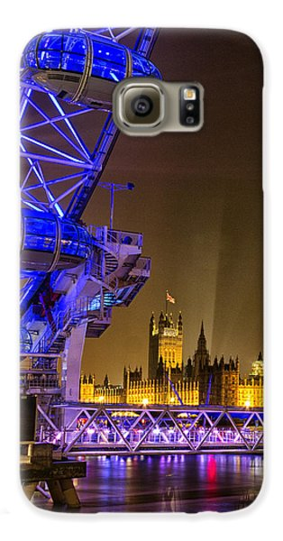 Big Ben And The London Eye Galaxy S6 Case by Ian Hufton
