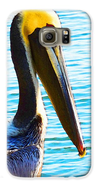Big Bill - Pelican Art By Sharon Cummings Galaxy S6 Case