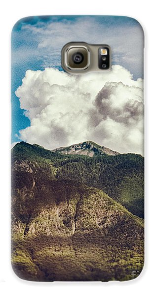 Big Clouds Over The Alps Galaxy S6 Case by Silvia Ganora