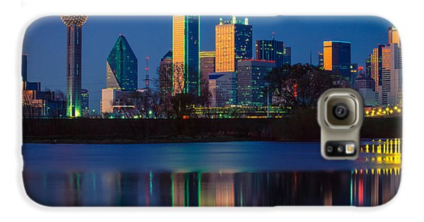 Big D Reflection Galaxy S6 Case by Inge Johnsson
