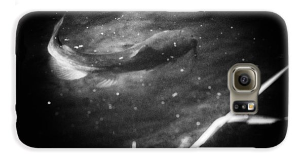 Catfish Galaxy S6 Case - Big Fish Little Fish by Susan Capuano