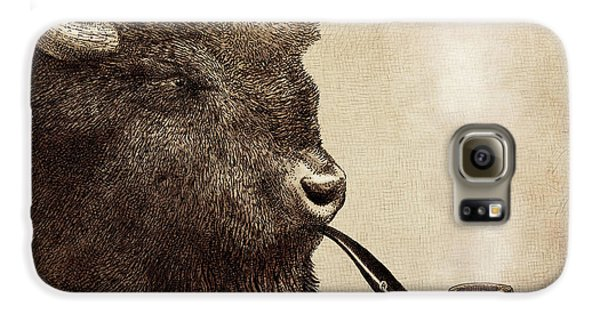 Animals Galaxy S6 Case - Big Smoke by Eric Fan