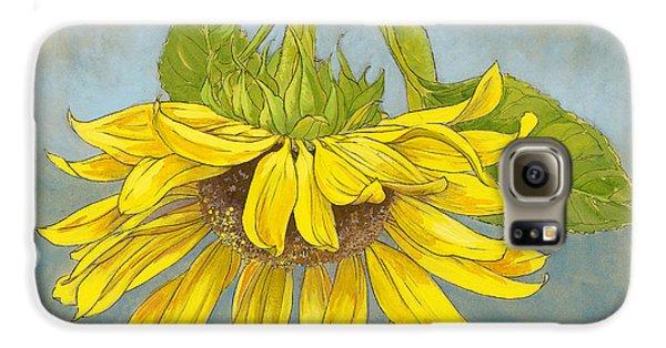 Big Sunflower Galaxy S6 Case by Tracie Thompson
