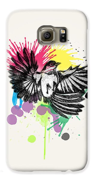 Bird Galaxy S6 Case by Mark Ashkenazi