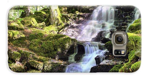 Birks Of Aberfeldy Cascading Waterfall - Scotland Galaxy S6 Case