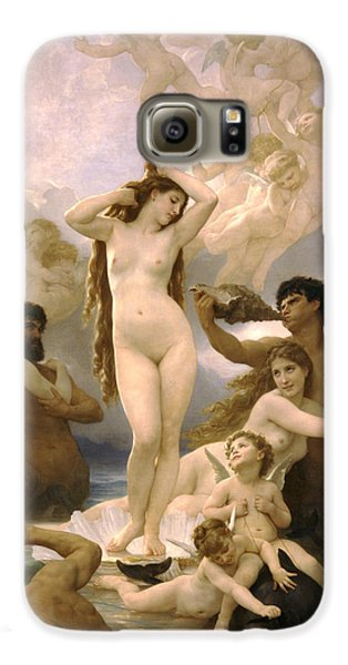 Venus Williams Galaxy S6 Case - Birth Of Venus by William Bouguereau