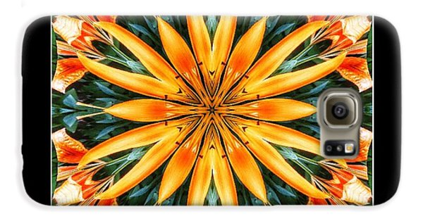 Birthday Lily For Erin Galaxy S6 Case by Nick Heap