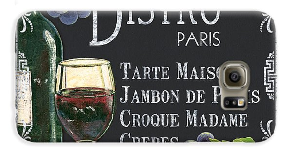 Bistro Paris Galaxy S6 Case by Debbie DeWitt