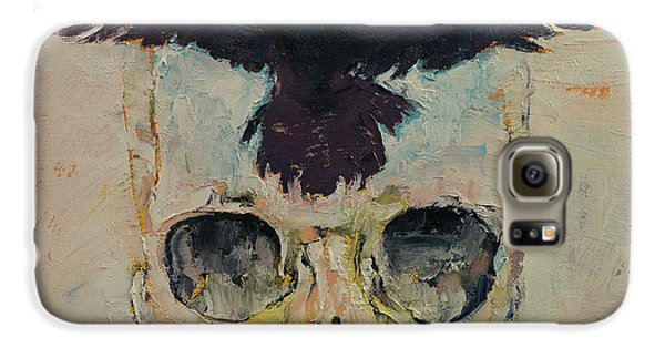 Black Crow Galaxy S6 Case by Michael Creese