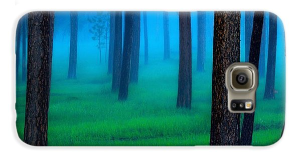 Fantasy Galaxy S6 Case - Black Hills Forest by Kadek Susanto