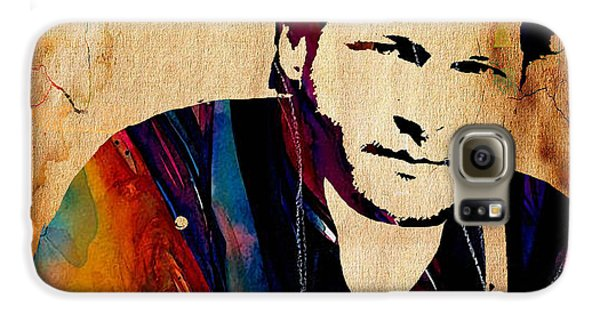 Blake Shelton Collection Galaxy S6 Case by Marvin Blaine