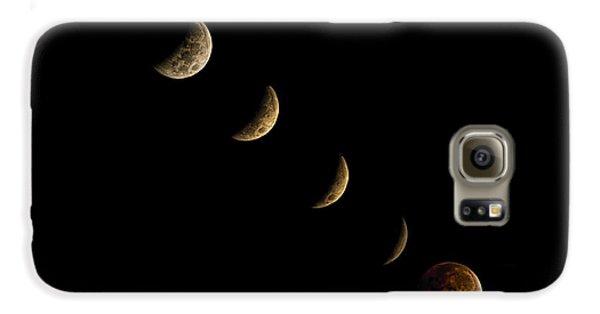 Blood Moon Galaxy S6 Case by James Dean