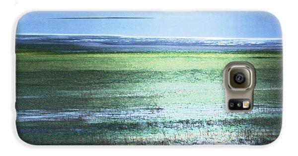Blue Green Landscape Galaxy S6 Case
