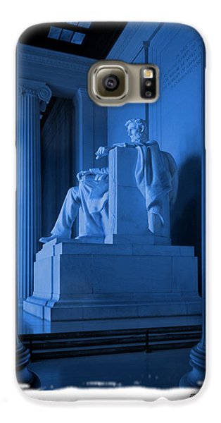 Blue Lincoln Galaxy S6 Case by Mike McGlothlen