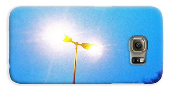 Cool Galaxy S6 Case - Blue Morning - Bright Beam Of Light by Matthias Hauser