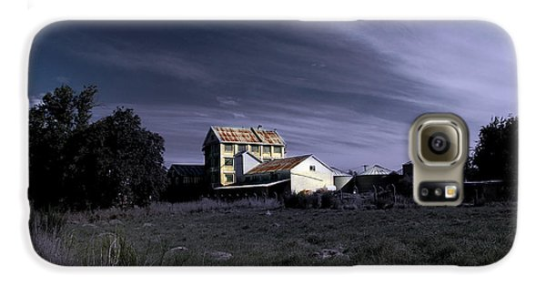 Galaxy S6 Case featuring the photograph Blue Night by Nareeta Martin