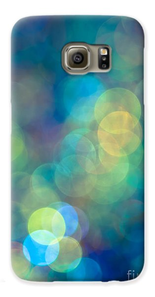Abstract Galaxy S6 Case - Blue Of The Night by Jan Bickerton