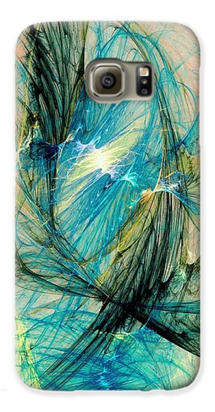 Blue Phoenix Galaxy S6 Case