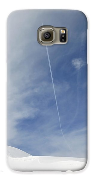 Blue Sky And Snow Galaxy S6 Case