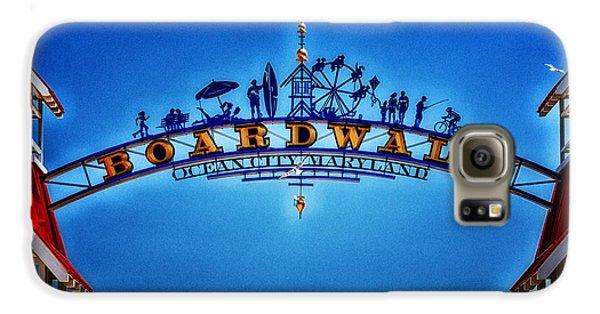 Boardwalk Arch In Ocean City Galaxy S6 Case