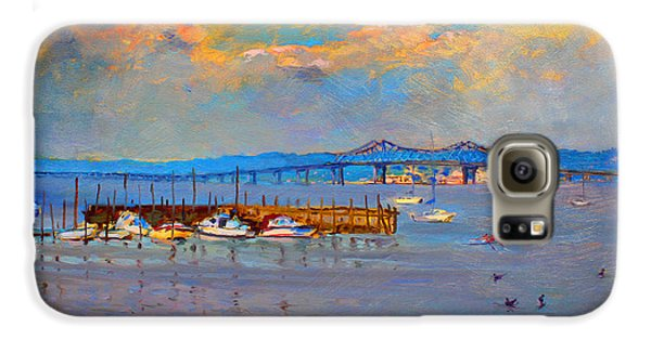 Duck Galaxy S6 Case - Boats In Piermont Harbor Ny by Ylli Haruni