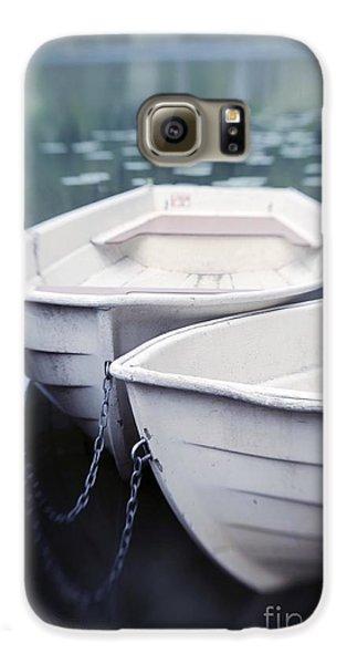 Boat Galaxy S6 Case - Boats by Priska Wettstein