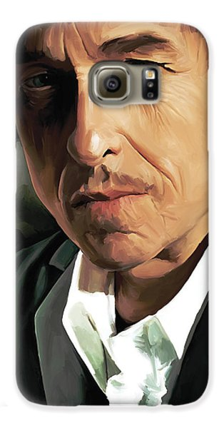 Bob Dylan Artwork Galaxy S6 Case by Sheraz A