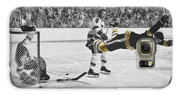Hockey Galaxy S6 Case - Bobby Orr 2 by Andrew Fare