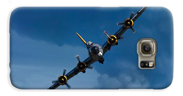 Airplane Galaxy S6 Case - Boeing B-17 Flying Fortress by Adam Romanowicz