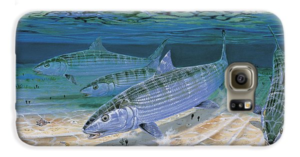 Bonefish Flats In002 Galaxy S6 Case by Carey Chen