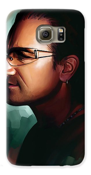 Bono U2 Artwork 1 Galaxy S6 Case by Sheraz A