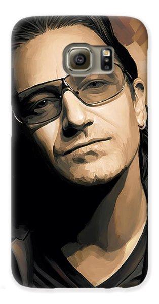 Bono U2 Artwork 2 Galaxy S6 Case by Sheraz A
