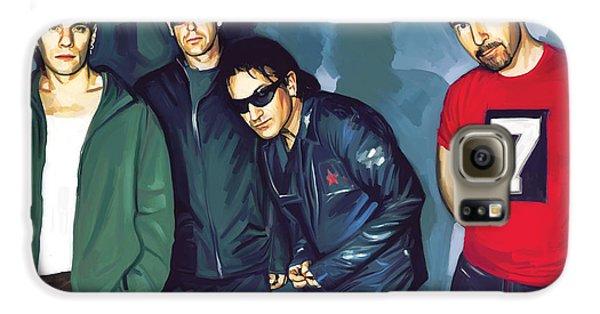 Bono U2 Artwork 5 Galaxy S6 Case by Sheraz A