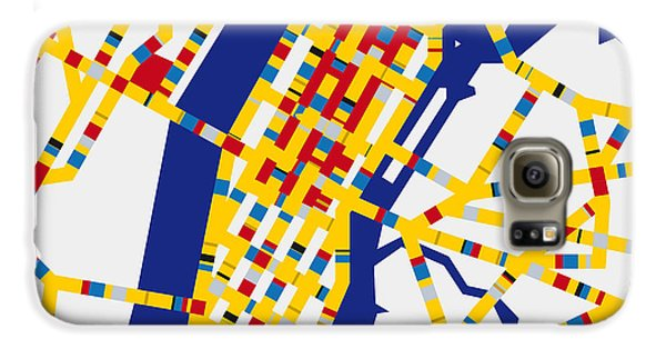Boogie Woogie New York Galaxy S6 Case by Chungkong Art