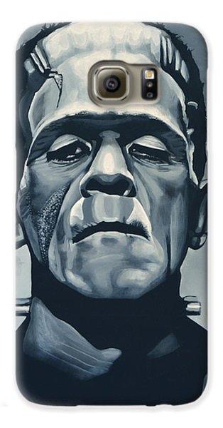 Boris Karloff As Frankenstein  Galaxy S6 Case