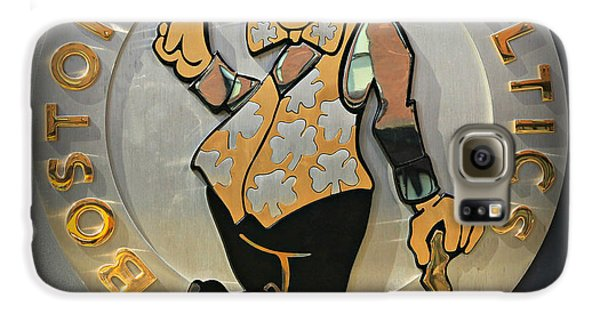 Larry Bird Galaxy S6 Case - Boston Celtics by Stephen Stookey