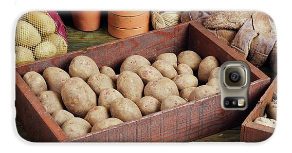 Box Of Potatoes Galaxy S6 Case by Geoff Kidd