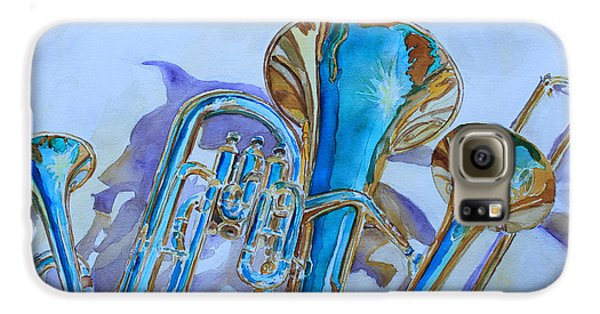 Trombone Galaxy S6 Case - Brass Candy Trio by Jenny Armitage
