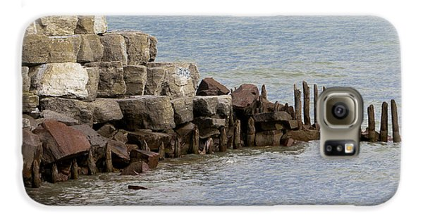 Galaxy S6 Case featuring the photograph Breakwater by Ricky L Jones