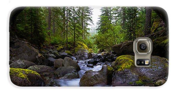 Bridge Below Rainier Galaxy S6 Case
