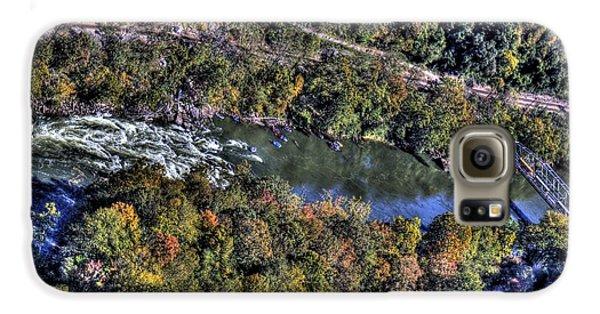 Bridge Over River Galaxy S6 Case