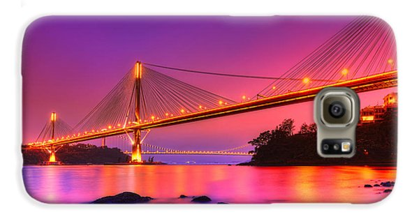 Bridge To Dream Galaxy S6 Case by Midori Chan