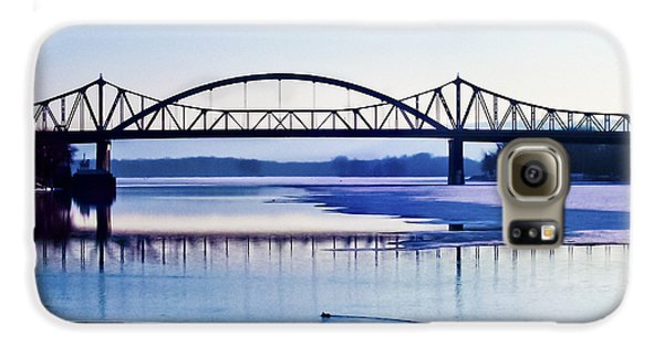 Bridges Over The Mississippi Galaxy S6 Case