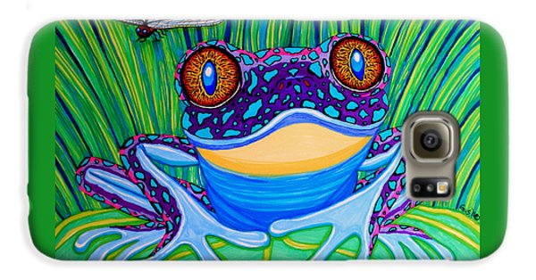 Bright Eyed Frog Galaxy S6 Case by Nick Gustafson