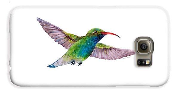 Broad Billed Hummingbird Galaxy S6 Case by Amy Kirkpatrick