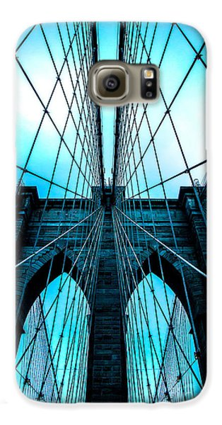 Brooklyn Blues Galaxy S6 Case by Az Jackson