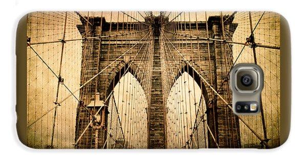 Brooklyn Bridge Nostalgia Galaxy S6 Case by Jessica Jenney