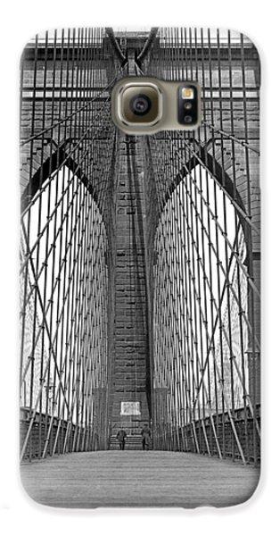 Brooklyn Bridge Promenade Galaxy S6 Case