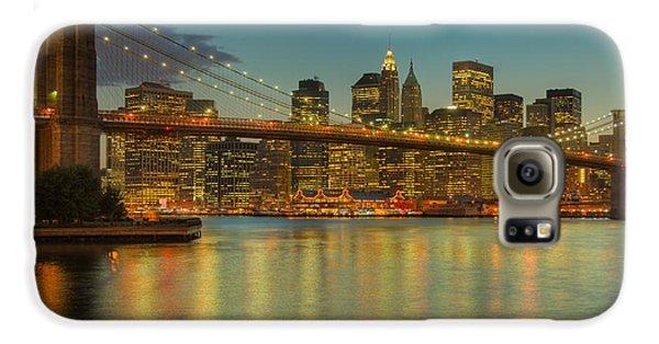 Brooklyn Bridge Twilight Galaxy S6 Case